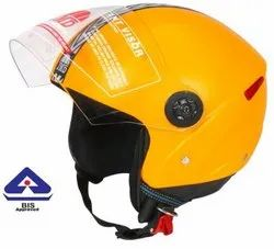 Yellow Grand Open Face Helmet