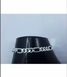 90 Grams Men Silver Bracelets