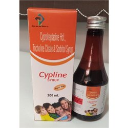 Cyproheptadine HCl, Tricholine Citrate And Sorbitol Syrup