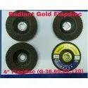 Radiant Gold Flap Disc