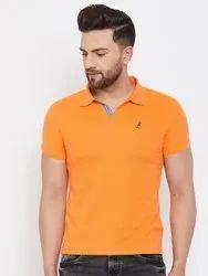 Men Polo Collar T Shirt