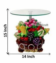 Decorative Corner Table/Pillar