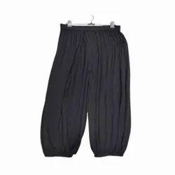 Black Ladies Rayon Pyjama