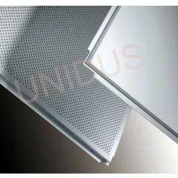 0.45 mm Microlook Metal Perforated Ceiling Tiles