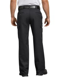 Black Slim Fit Mens Cotton Pants