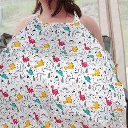 Multicolor Feeding & Nursing Cover Made In Fine & Soft Eco Friendly Cotton Fabric