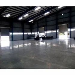 Corporate Building Concrete Flooring Service, For Indoor