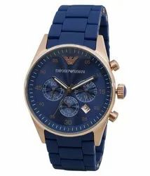 Casual Watches Analog Royal Blue Chronograph Watch, For Daily