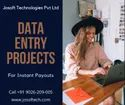 20 Days Outsourcing Company Data Entry Projects Providers In India, Company Manpower: 20-50