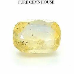 7.05 Carat Pitambari Sapphire Gemstone, Size: 12.42 X 8.9 X 5.78 Mm