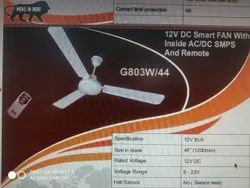 12v DC Smart Fan With AC/DC SMPS With Remote