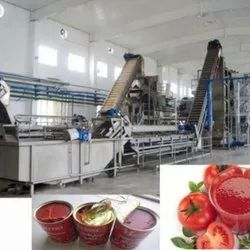Automatic Stainless Steel Tomato Processing Plant