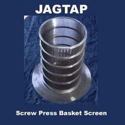 Screw Press Basket Screen