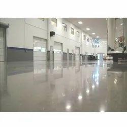 Concrete Tile/Marble/Concrete Industrial Designer Flooring Service, For Indoor, Anti-Skidding