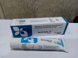 Ofloxacin, Ornidazole, Itraconazole, Clobetasol Propionate Cream 15mg