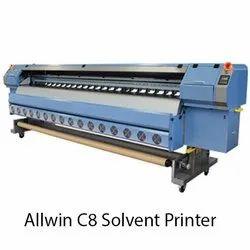 Allwin-C8 Solvent Printer