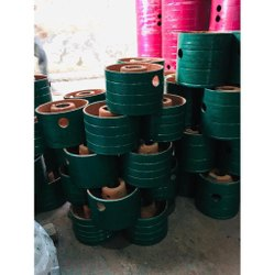 Cast Iron Flat Belt Pulley, For Lifting Platform, Capacity: 0.5-1 Ton