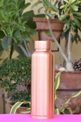 King Shape Copper Bottle