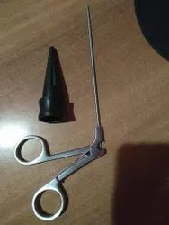 Insufflators Stainless Steel Port Closer Needle With Cone, For Hospital