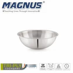 Magnus Triply Induction Tasla, 260mm, Silver, Steel - Aluminum - Steel TRI PLY Technology, 3.4 litre