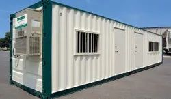 Portable container office cabin