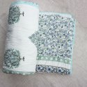 Cotton Jaal  Hand Block Print Reversible Jaipuri Quilt