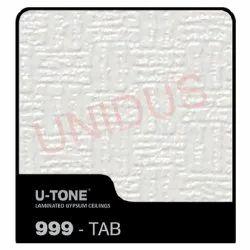 999-Tab PVC Laminated Gypsum Ceiling Tile