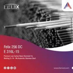 Felix 256 DC (316L-15) Electrodes, Size: 3.15 Mm, 4.0 Mm, Material Grade: E 316l-15