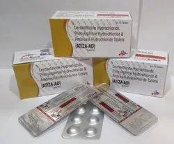 Levocetirizine 5Mg,Phenylephrin 5Mg & Ambroxol Hydrochloride 60Mg Tablets