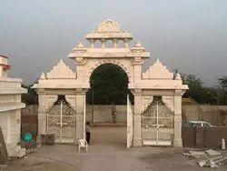 Sandstone Temple Gate