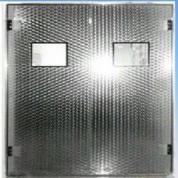 Stainless Steel High Speed Door, For Medical Industry, Size/Dimension: 6 Feet Height