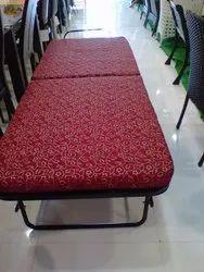Roll Away Rectangle Bed, Net Weight: 28 kg