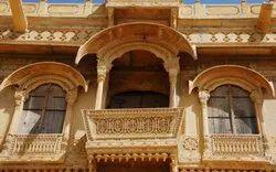 Yellow Stone Jharoka