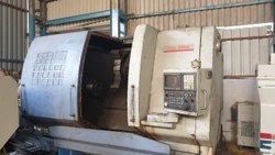 Used And Old Make- Force One FCL-580S CNC Lathe Machine 2004