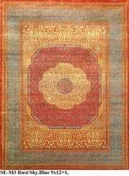 Sari Silk Rug, Size: Custom