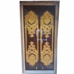 Exterior Moulded Fiber Door, Size: 80X50