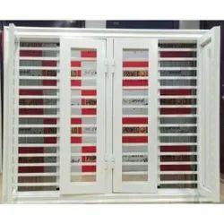 Prime Gold UPVC Mild Steel Casement Window, For Residential