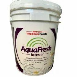 Smooth MRF Aquafresh Interior Wall Paint, Packaging Size: 20 L