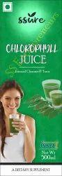Ssure Chlorophyll Juice For Internal Cleansing