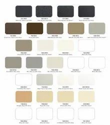 Clear Color Powder Coatings