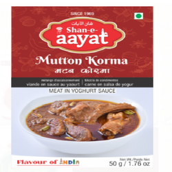 Shan-E-Aayat Mutton Korma Masala 50g