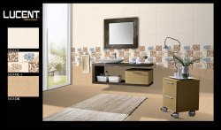 Glossy Ceramic Glazed Wall Tiles, Thickness: 5-10 Mm, Size: 25x37.5 Cm