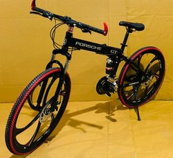 Black Porsche Foldable Cycle