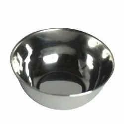 ROXX Stainless Steel AISI 304 Steel Silver Round Bowl, For KITCHEN, Size: 150