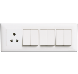 16A White Gm Modular Switches, ON/OFF, 240V