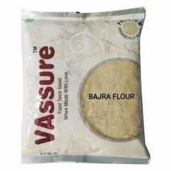 VAssure Bajra Flour, 500 Gm, Packaging Type: Packet