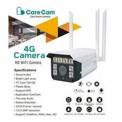 Care Cam 4G SIM Camera- All 4G SIM Supported