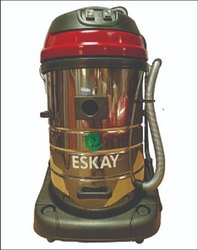 Eskay Stailess Steel Semi Automatic Industrial Vaccum Cleaner For Service Station