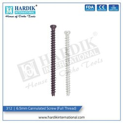 6.5mm Cannulated Screw (Fully Thread)
