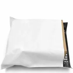 White and black LDPE A3 Plastic courier bags, For Shipping, Thickness: 55 Micron